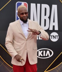 Lance Fresh attends the 2019 NBA Awards in Santa, Monica, California