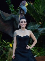 "Daniella Pineda attends the ""Jurassic World: Fallen Kingdom"" premiere in Los Angeles"