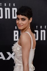 "Sofia Boutella attends the ""Star Trek Beyond"" premiere in San Diego"