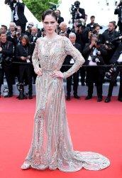 Coco Rocha attends the Cannes Film Festival