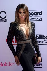 Actress Laverne Cox attends the Billboard Music Awards in Las Vegas