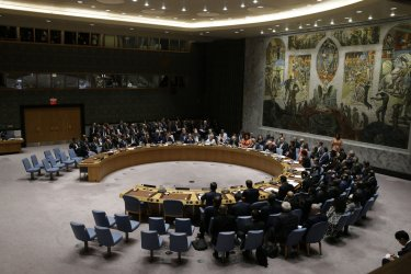 President Trump chairs the Security Council at UN