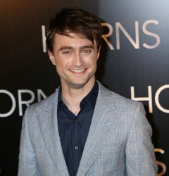 """French premiere of the film """"Horns"""" in Paris"""