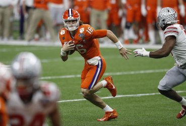 Clemson vs. Ohio State during Sugar Bowl in New Orleans