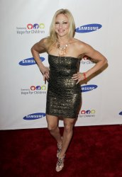 Debbie Gibson arrives at the Samsung Hope for Children gala at Cipriani on Wall Street in New York