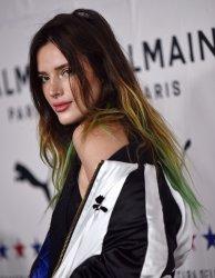 Bella Thorne attends Puma x Balmain x Cara Delevingne launch party