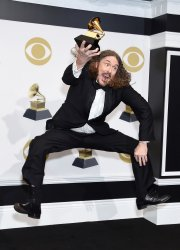 'Weird Al' Yankovic wins award at the 61st Grammy Awards in Los Angeles