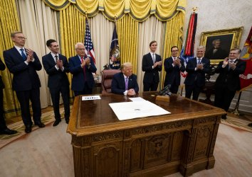 President Trump announces Israel UAE Peace Agreement at the White House