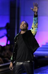 Kanye West performs at the Victoria's Secret Fashion Show in New York