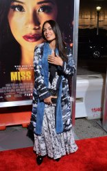 "Rosario Dawson attends the ""Miss Bala"" premiere in Los Angeles"