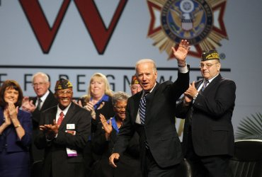 U.S. Vice President Joe Biden speaks at VFW National conference om St. Louis