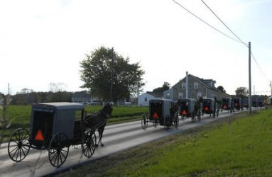 AMISH COMMUNITY HOLDS FUNERALS FOR VICTIMS OF THE SCHOOL SHOOTING