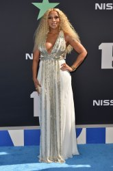 Mary J. Blige attends the 19th annual BET Awards in Los Angeles
