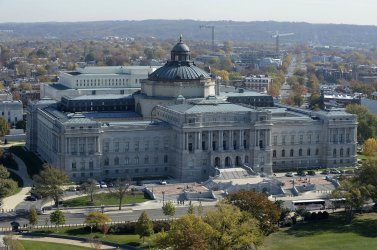 The architect of US capitol gives Tour of dome restoration