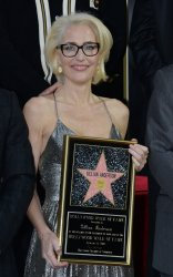 Gillian Anderson honored with star on the Hollywood Walk of Fame in Los Angeles