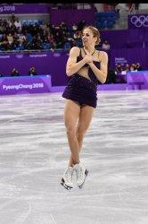 Team Event Ladies Single Free Skating at the Pyeongchang 2018 Winter Olympics