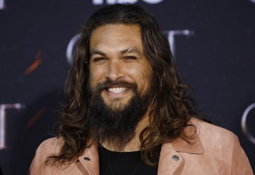 Jason Momoa at the Season 8 premiere of Game of Thrones