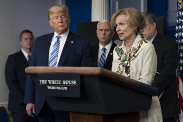 Trump Participates in Coronavirus Task Force Briefing