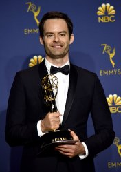 Bill Hader wins award at the 70th Primetime Emmy Awards in Los Angeles