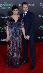 "Ginnifer Goodwin and Josh Dallas attend the ""Zootopia"" premiere in Los Angeles"