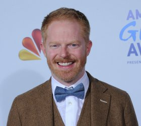 Jesse Tyler Ferguson arrives at the American Giving Awards in Los Angeles