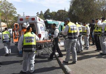 Stabbing And Shooting Terror Attack Jerusalem