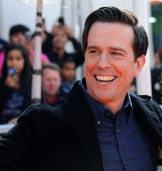 "Ed Helms attends the premiere of ""Dr. Seuss' The Lorax"" In Universal City, California"