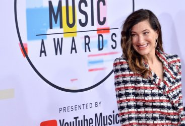 Kathryn Hahn attends 46th annual American Music Awards in Los Angeles