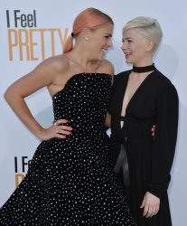 """Busy Philipps and Michelle Williams attends the """"I Feel Pretty"""" premiere in Los Angeles"""