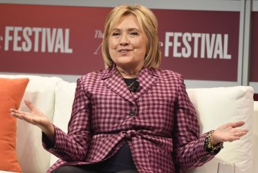 Hillary Clinton in conversation of current events at Atlantic Festival