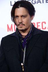 """Mortdecai"" premiere held in Los Angeles"