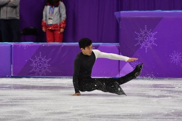 Men Single Figure Skating Short Program at the Pyeongchang 2018 Winter Olympics