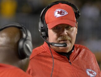Kansas City Chiefs head coach Andy Reid in Pittsburgh