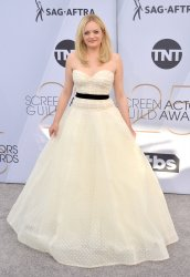 Elisabeth Moss attends the SAG Awards in Los Angeles