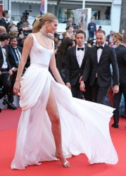 Toni Garrn attends the Cannes Film Festival