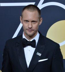 Alexander Skarsgard attends the 75th annual Golden Globe Awards in Beverly Hills