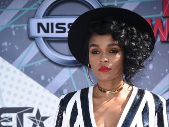 Janelle Monae attends the BET Awards in Los Angeles