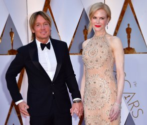 Nicole Kidman and Keith Urban arrive for the 89th annual Academy Awards in Hollywood