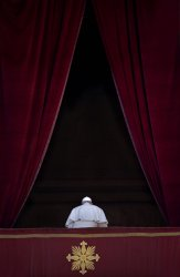 Pope Francis Delivers his Urbi et Orbi Address on Chritmas Day