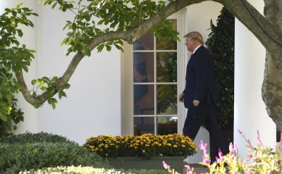 President Trump departs White House for trip to Minneapolis