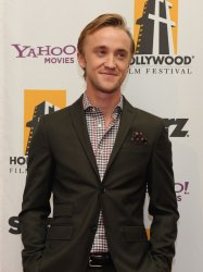 Tom Felton attends the Hollywood Film Awards in Beverly Hills