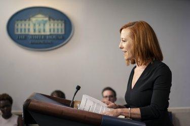 White House Press Secretary Jen Psaki Holds Briefing