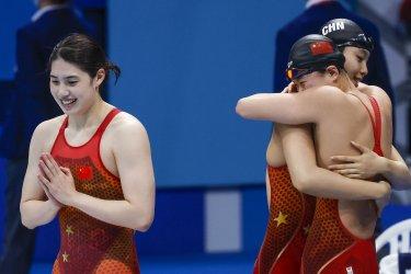 Swimmimg Finals at the Tokyo Olympics