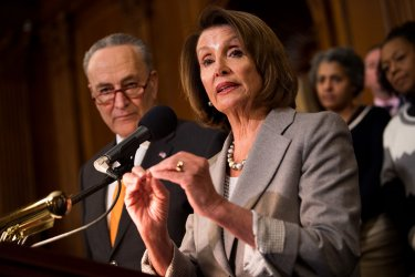 Democratic Leaders speak on the Shut Down on Capitol Hill
