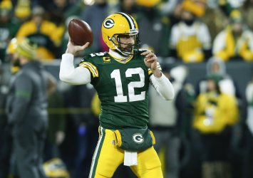 Seattle Seahawks vs the Green Bay Packers in the NFC divisional playoff