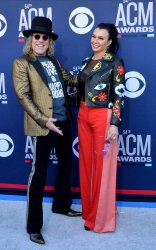 Big Kenny and Christiev Carothers attend the Academy of Country Music Awards in Las Vegas