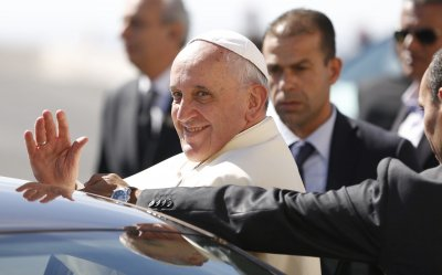 Pope Francis Visits West Bank on Middle East Tour