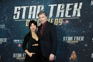 Anson Mount at the 'Star Trek: Discovery' premiere