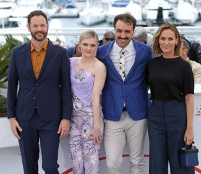 The team from The Climb attends the Cannes Film Festival