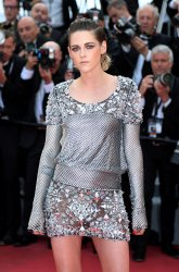 Kristen Stewart attends the Cannes Film Festival